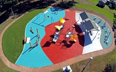 Colourful new playground in Sydney
