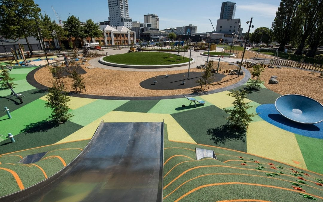Margaret Mahy Family Park in Christchurch, New Zealand