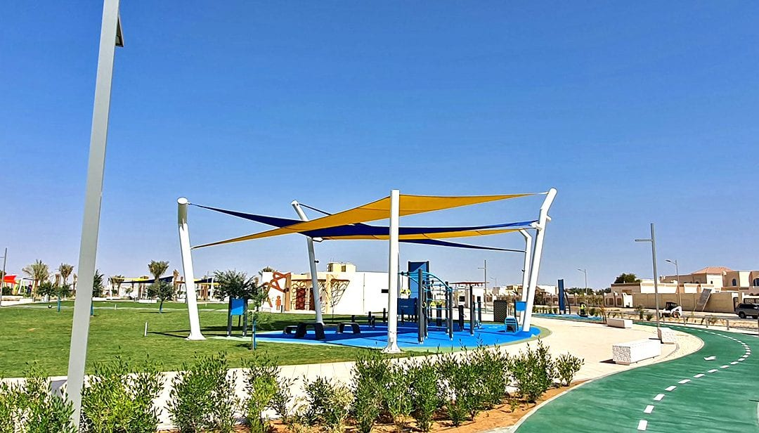 Al Dhaher Park in Al Ain, Abu Dhabi