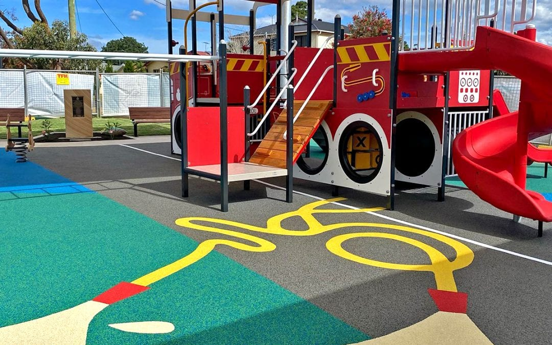 Australian Playground Dedicated to the Memory of RFS Firefighters