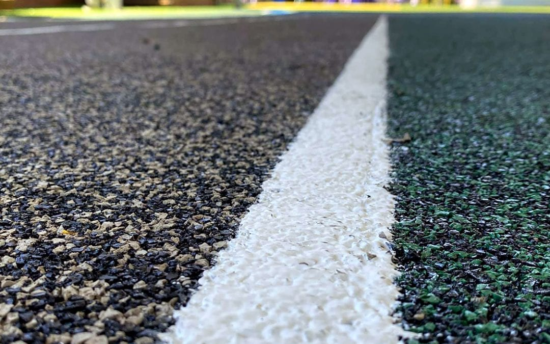 New School Running Track in Australia